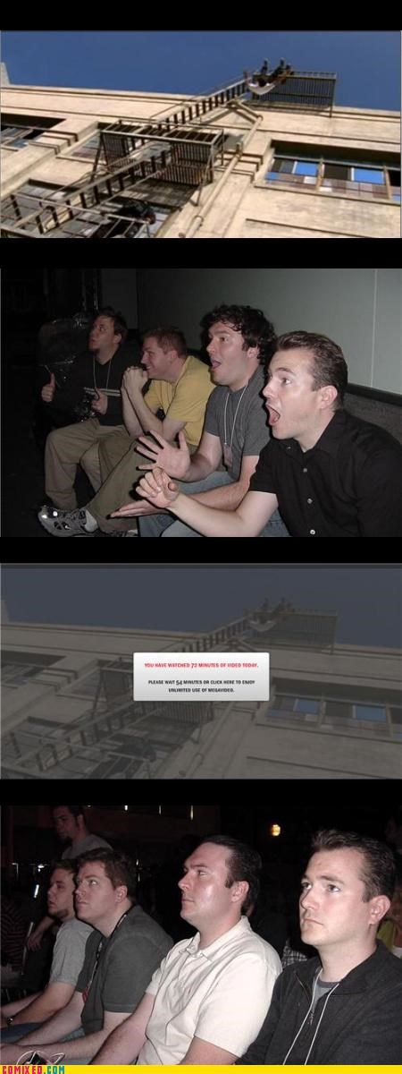 limitations,Megavideo,reaction guys,the internets