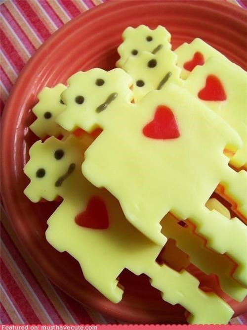 heart,lime,robot,scented,soap