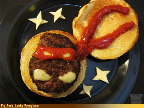 Funny Food Photos - Teenage Mutant Ninja Burger