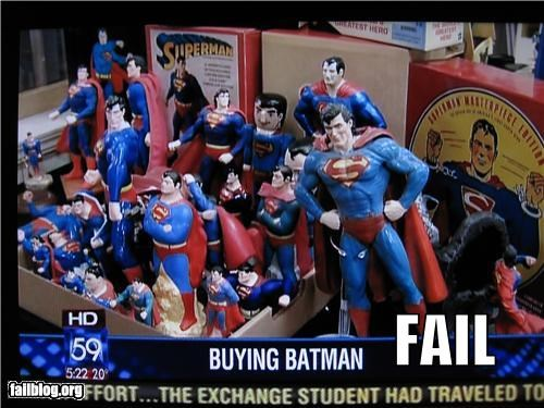 Superman = Batman