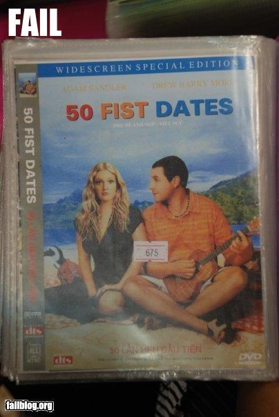 Bootleg DVD Fail