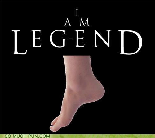blockbuster,combination,contraction,end,film,i am legend,leg,legend,literalism,Movie,title