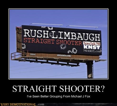 STRAIGHT SHOOTER?