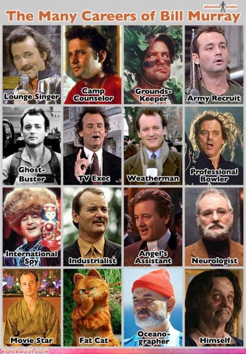 The Many Careers Of Bill Murray