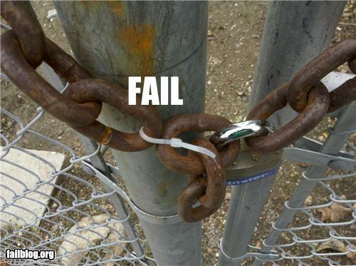 Padlock Fail