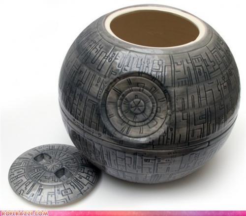 Feast Your Eyes: Death Star Cookie Jar