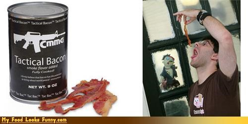 Funny Food Photos - Bacon in a Can