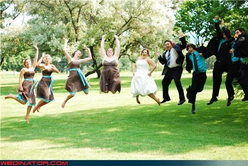 another jumping picture,bride,Crazy Brides,crazy groom,fashion is my passion,funny jumping picture,funny jumping wedding photo,funny wedding photos,jumping picture,News and Trends,too-much-jumping,were-in-love,wedding jumping picture,wedding party,yawn