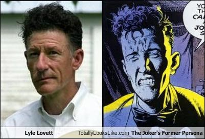 batman,comics,lyle lovett,the joker