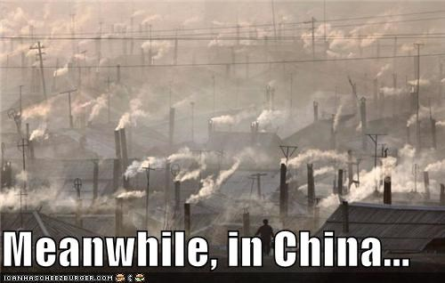 Meanwhile, in China...