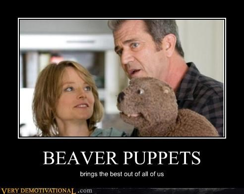 BEAVER PUPPETS