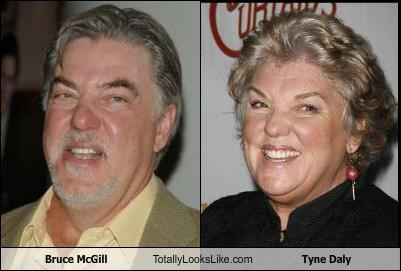 Bruce McGill Totally Looks Like Tyne Daly