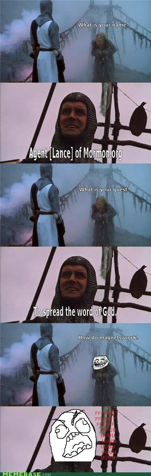 Monty Python and the Quest for the Trolly Grail