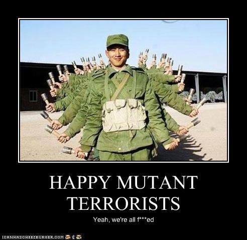 HAPPY MUTANT TERRORISTS