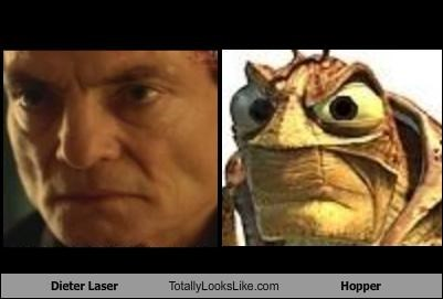 Dieter Laser Totally Looks Like Hopper