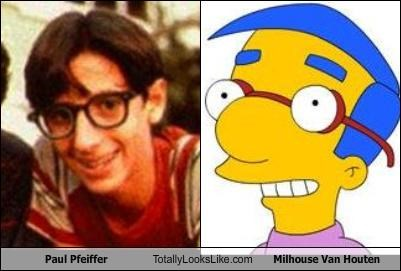 Paul Pfeiffer Totally Looks Like Milhouse Van Houten
