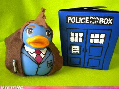 Doctor Who Rubber Duckies
