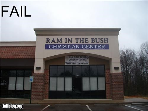 Christian Center Name Fail