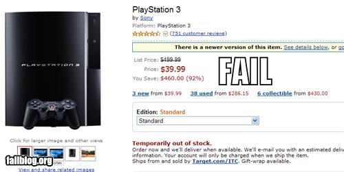 Amazon Price FAIL