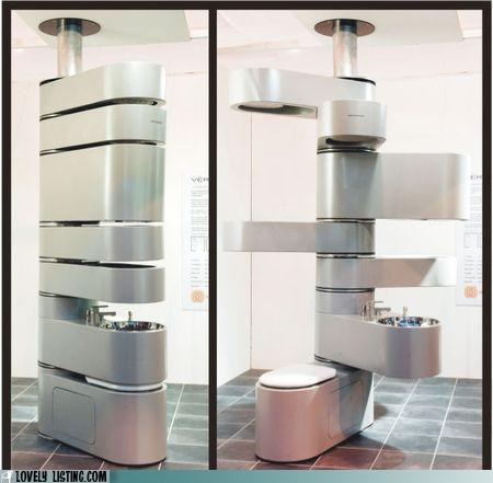 bathroom,fixtures,Points Unknown,swiss army,swivel,tower