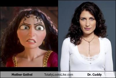 Mother Gothel Totally Looks Like Dr. Cuddy