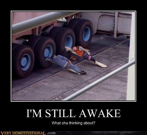 I'M STILL AWAKE