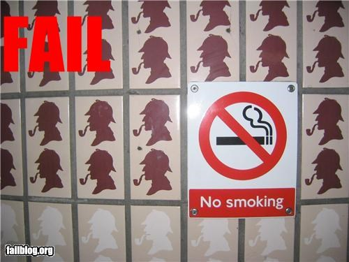 No Smoking Fail