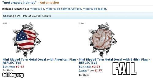 Amazon Flag FAIL
