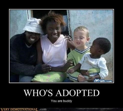 WHO'S ADOPTED