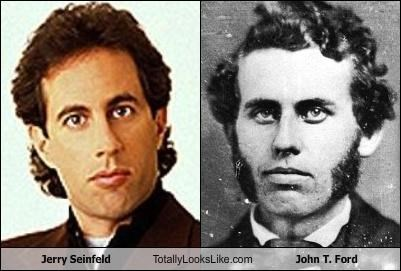 Jerry Seinfeld Totally Looks Like John T. Ford