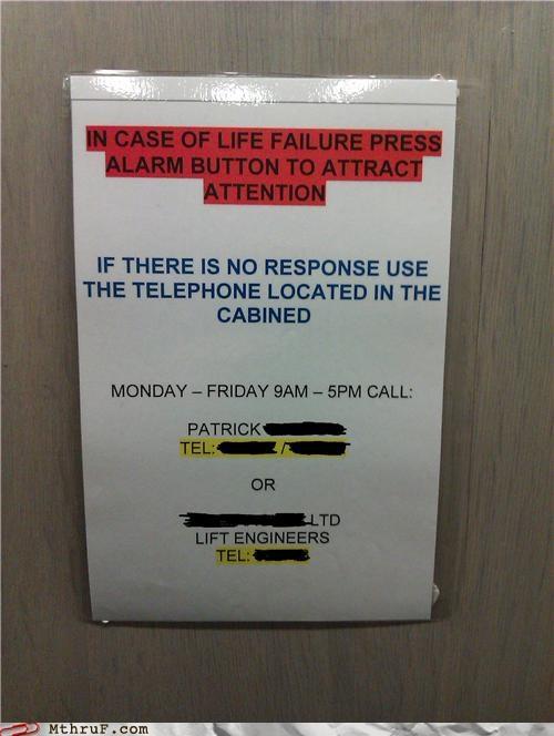 alarm,caution,elevator,life,lift
