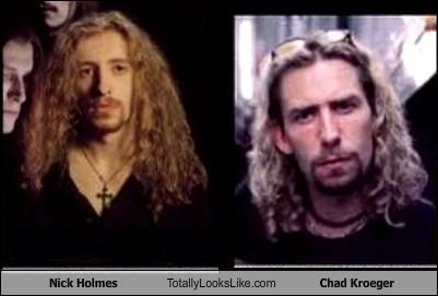Nick Holmes Totally Looks Like Chad Kroeger