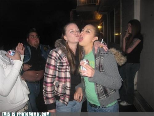 awesome,beer,belly,cigarette,keg,ladies,Party,photobomb