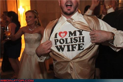 bride,Crazy Brides,crazy groom,fashion is my passion,funny bride picture,funny groom picture,funny wedding photos,groom,i love my polish wife,miscellaneous-oops,polish bride,polish wedding,satin-grooms-vest,satin vest,were-in-love,Wedding Themes