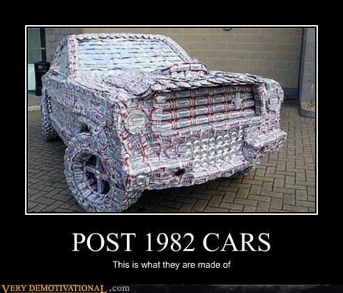 POST 1982 CARS