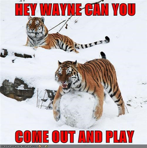 HEY WAYNE CAN YOU        COME OUT AND PLAY