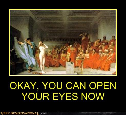 open your eyes,old school painting