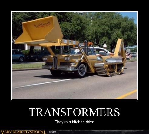 transformers,drive,horrible