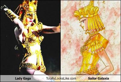 Lady Gaga Totally Looks Like Sailor Galaxia