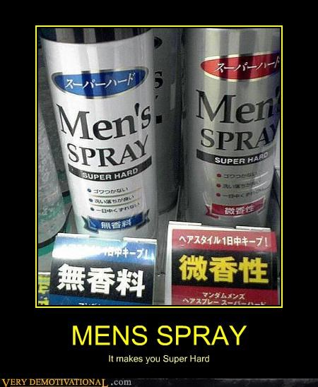 MENS SPRAY