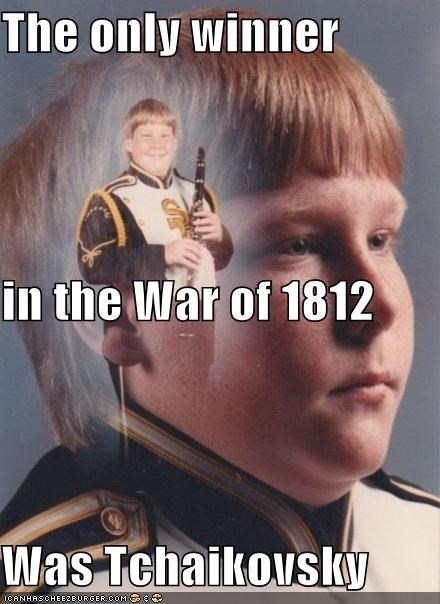 PTSD Clarinet Boy: War of 1812