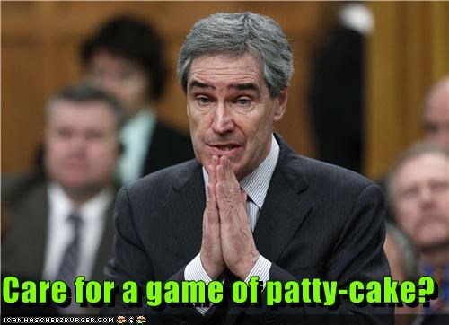 Care for a game of patty-cake?