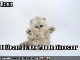 Rawr  It Means I Love You In Dinosaur