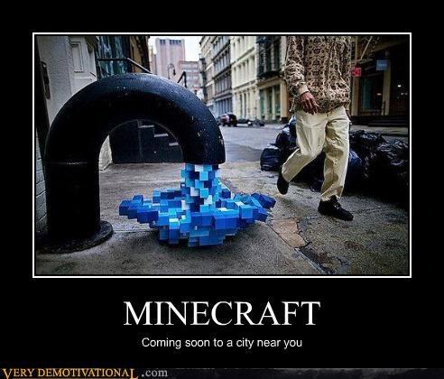art,water,city,minecraft