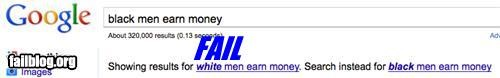 Google Moneymaking Racist Fail