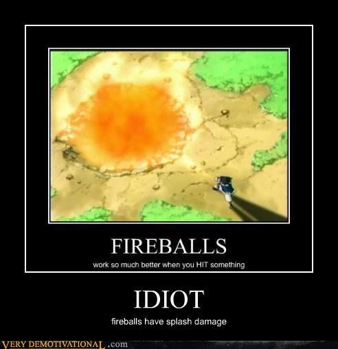 Fireball splash damage dragonball z idiots