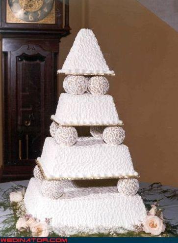 crazy wedding cake,Dreamcake,flavored sugary syrup,funny wedding photos,snow cone wedding cake,wedding cake,Wedding Themes,white wedding cake,wtf