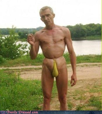 C'mon Grandpa, Get A Real Bathing Suit