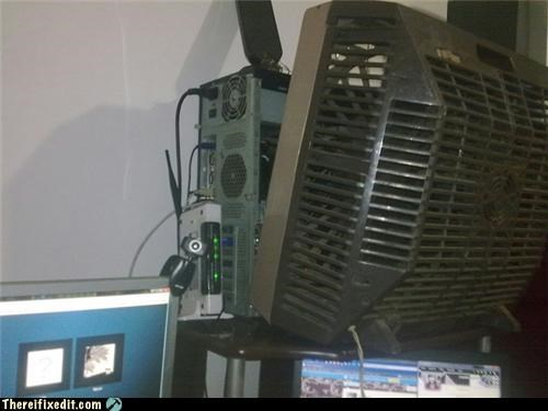 You Can't Go Wrong If The Fan Is Bigger Than the PC