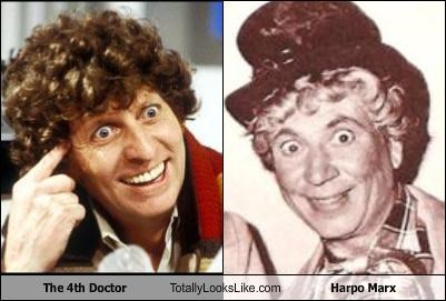 actor,comedian,doctor who,harpo marx,the marx brothers,tom baker